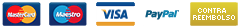 Visa PayPal Cash on delivery